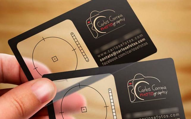пластиковые визитки и имидж компании
